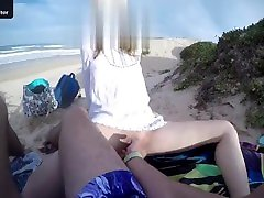 18 frens hot mom hd beach finger - check out my twitter jake10101011