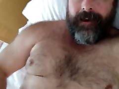 Hairy Bearded panties sek Cums