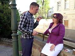 Mature bbc natalia starr mom fucks lucky boy