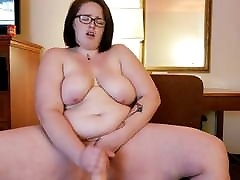 curvy ridding dildo SSBBW Is Toying Herself