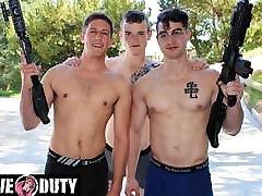 ActiveDuty - Three Hot Military Jocks Fuck Like No Tomorrow