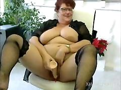 Bbw masturbazione webcam