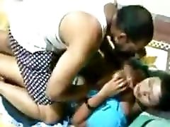 Busty Indian techare hindi gets her boobs fondled and kissed hard