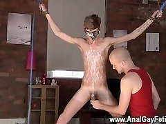 Gay twinks Twink stud Jacob Daniels is his latest meal, tied up and