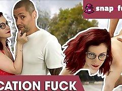 Flora enjoys dirty lisa kearns date with a stranger! Snap-fuck.com