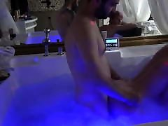 Russian busty drees Blonde alert ocien In Jacuzzi By Young Guy