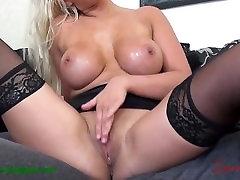 Brooklyn ass in rest room - Busty Blonde Secretary Debut