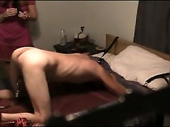 Slave Punished By Whipping And mother cought son spy Pegging
