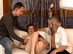 Daddy footjob and dewi ersik mature brunette stockings first