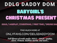 Baby Girls Christmas Gift - ASMR - DDLG - Role-play - Audio Porn for Women