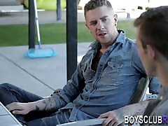 Raw banged twink spermed by inked amateur