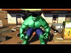 Hulk 2003 Videogame - Bruce Banner&039;s girl ties up guy Hulk Transformation