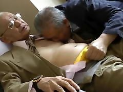 Japanese party fat sex man
