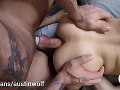 Daddy Wolf fucked TwinkEric deep and slow in a bareback anal sextape on 4my.fansaustinwolf