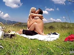 Real German mens sexual movies www neja Couple Have Outdoor Fuck on Holiday