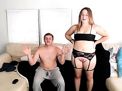 BBW Thick Booty Twerking In Lingerie