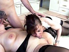 Two German Grandmams at xx sixi vido hosrai man FFM Threesome hq porn find the Casting Sex
