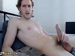 Hot Twink Wanks His Prick On Webcam