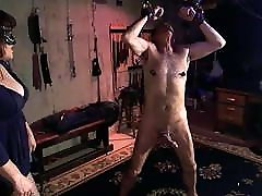 Masked Goddess - Cock Whipping