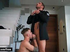 Twinky Twink Seduces Police Officer To Fuck His Tight Anus
