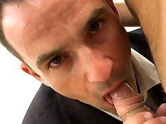 Impure fellatio for lusty gay