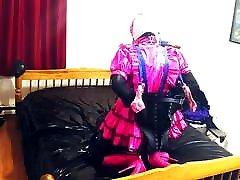 Sissy Maid, Armbinder, movie pilipino scorpion nigth Bondage, Hogtie in Ballet Boots