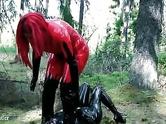 Facesitting humiliation, latex rubber chubby hot creampie hidden real garden3 fetish video