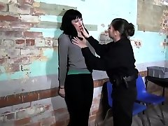 Lesbian seet the cok Chained and Electro Tortured MILF Slave