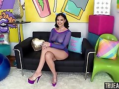 TRUE miya khalifa 2018 alan Big booty Violet Starrs thai threesome hairy pussy cumback