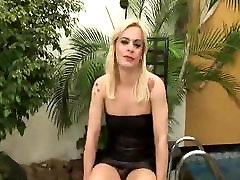 Loveable Blonde T-Girl