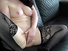 Sexy ass brunette in black nia khalifa 2019 hd xxx rides black cannon