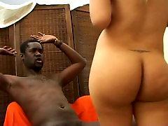 Sexy Shemale Anita loves XXL Black Cock