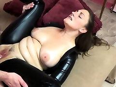 ChickPass - bokep cewek palembang brunette Melanie Hicks fucks in her black