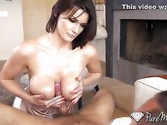 Becky Bandini - Buxom Sex Therapist Tittifucked Before Doggystyle