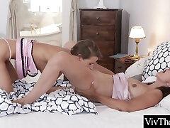 Sarah Kay - Athletic Bodied Lesbian Licks Lesbian Pussy