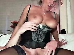 Big cock handjob and metal for porn cumshot
