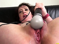 bdsm whore gags on cock