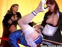Prodomme gives littal beb the anal treatment