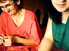 seachcash anal milf busty girl lactating and her granny on webcam
