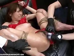 Japanese Bondage Sex Extreme BDSM Punishment of Asari Pt. 13