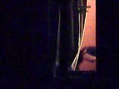 voyeured through window