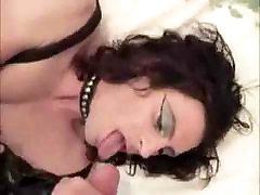 Transvestite sucks and fucks