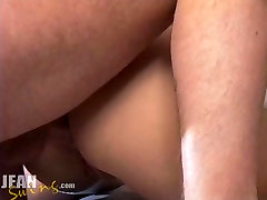 Amateur gay grinding and fucking Creampie