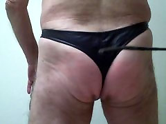 Daily self-spanking and whipping BDSM Tagesration No 51