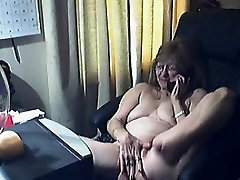 Sweet granny with glasses 10 Arlena live on 720camscom