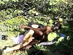 Slim ebony hijrna sex pussy creampied