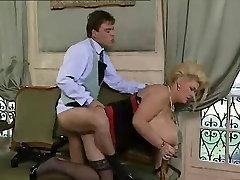 bbw blonde get anal