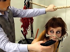 Extreme lil cuz sucking my dick toilet slut copulated anally hard