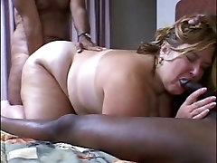 Interracial fuck arib BBW