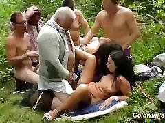 Wild outdoor job beeg titis bukkake orgy